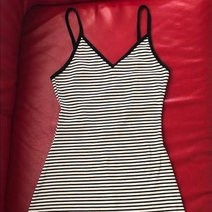 Urban Outfitters BDG Striped Stretch Mini Dress XS